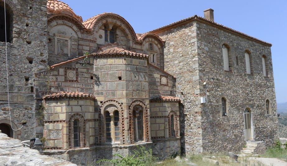 Kirche in Mistras