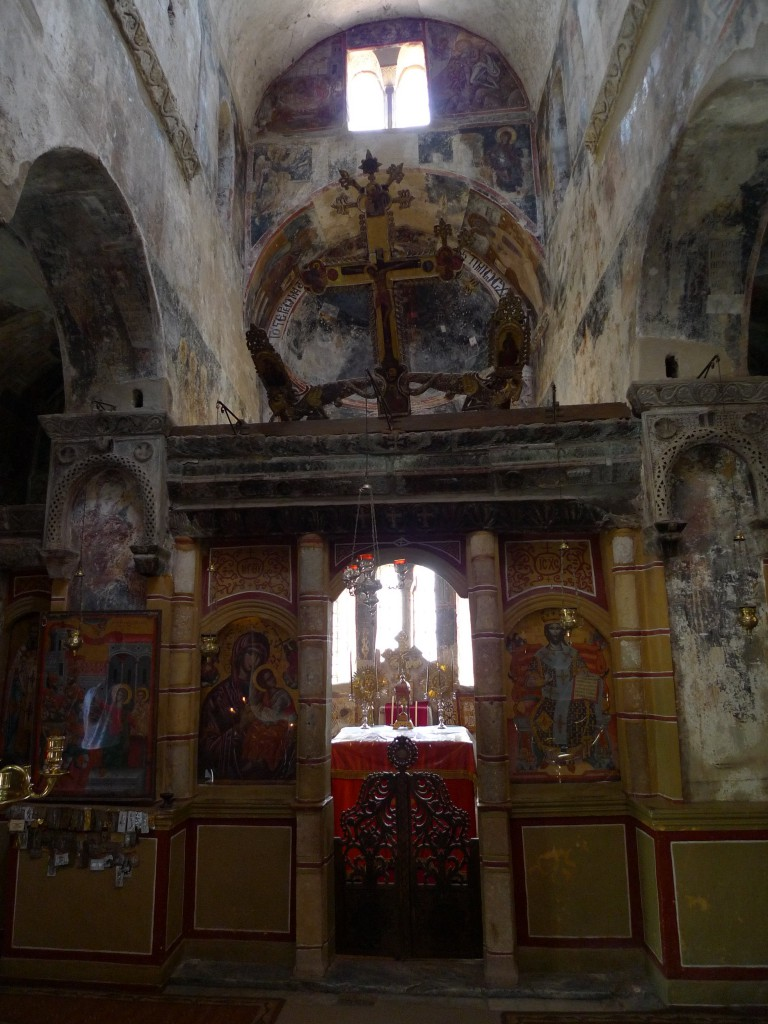 Apsis der Kirche in Mistras