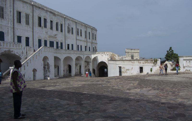 Düstere Vergangenheit: Cape Coast Castle