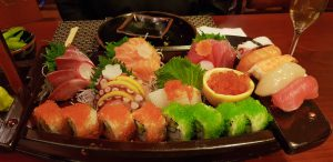 Sushi am roten Meer